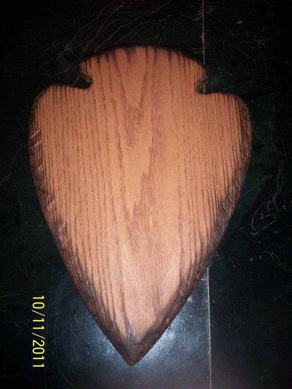 Picture Arrowhead Plaque 60 00